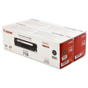 Canon CRG-718Bk, 2 x 3,4K stran - originální černý (2662B005)