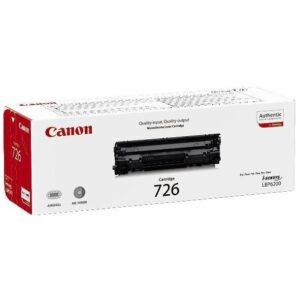 Canon CRG-726, 2,1K stran - originální černá (3483B002)